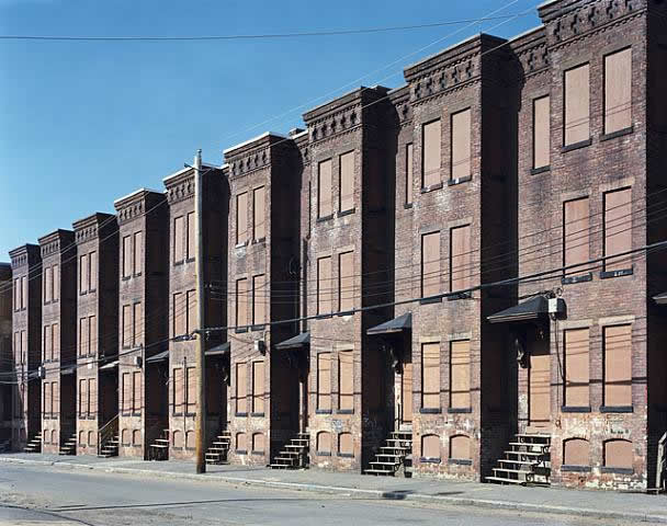 newton-street-row-houses_by_mitch-epstein