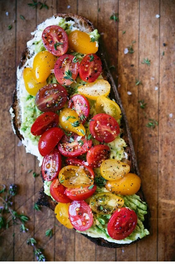 Loaded_Avocado_Toast_With_Thyme,_Tomatoes_&_Ricotta_1